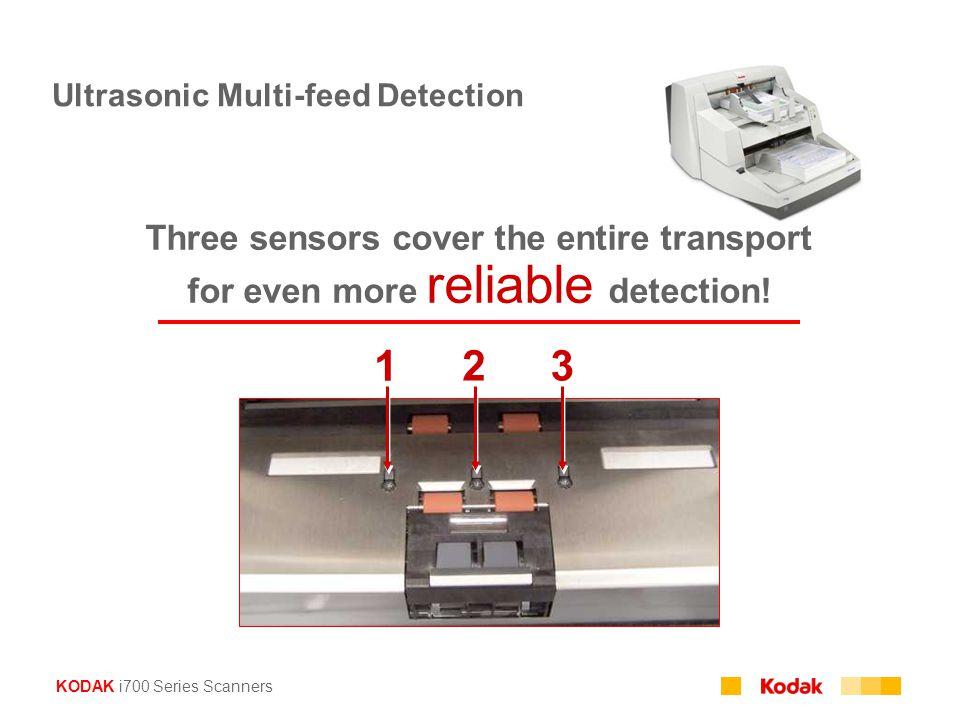 Ultrasonic Multi-feed Detection
