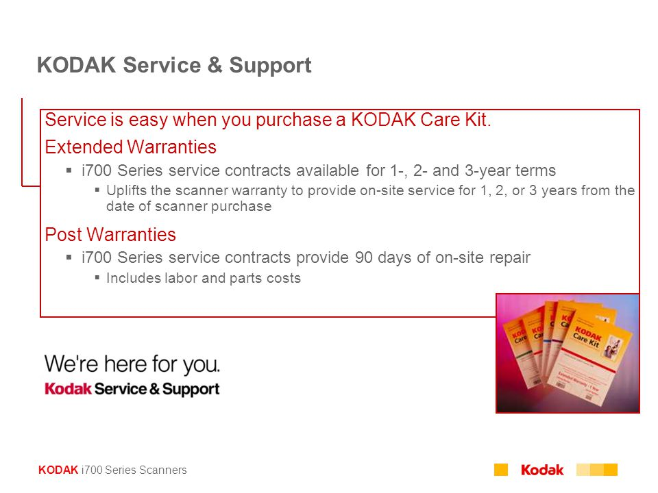 KODAK Service & Support