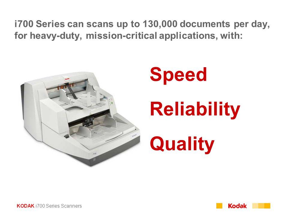 Speed Reliability Quality