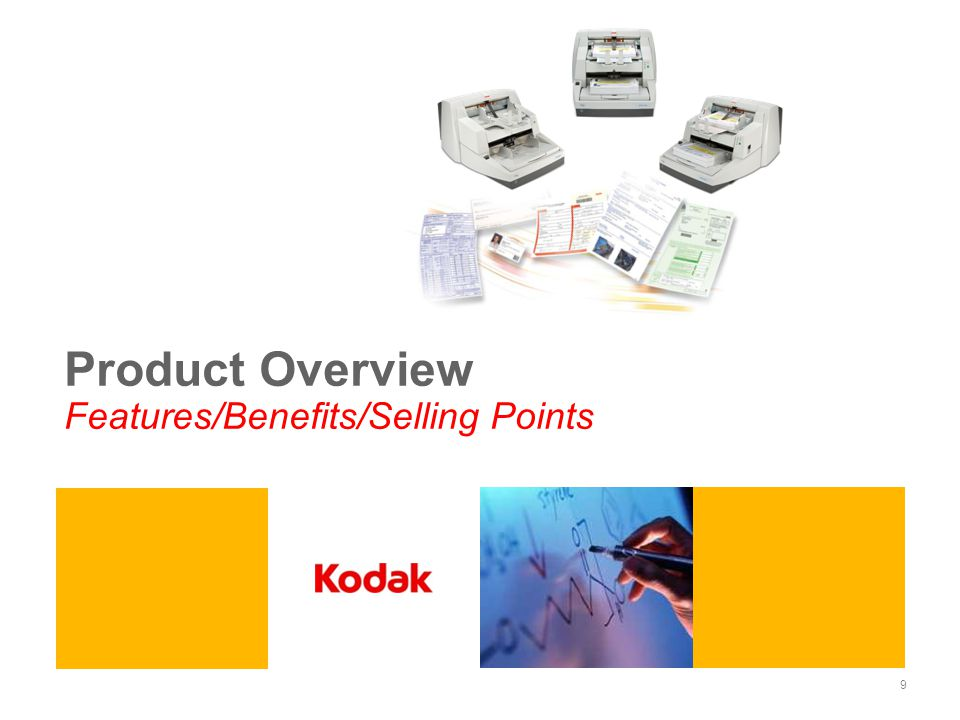 Product Overview Features/Benefits/Selling Points