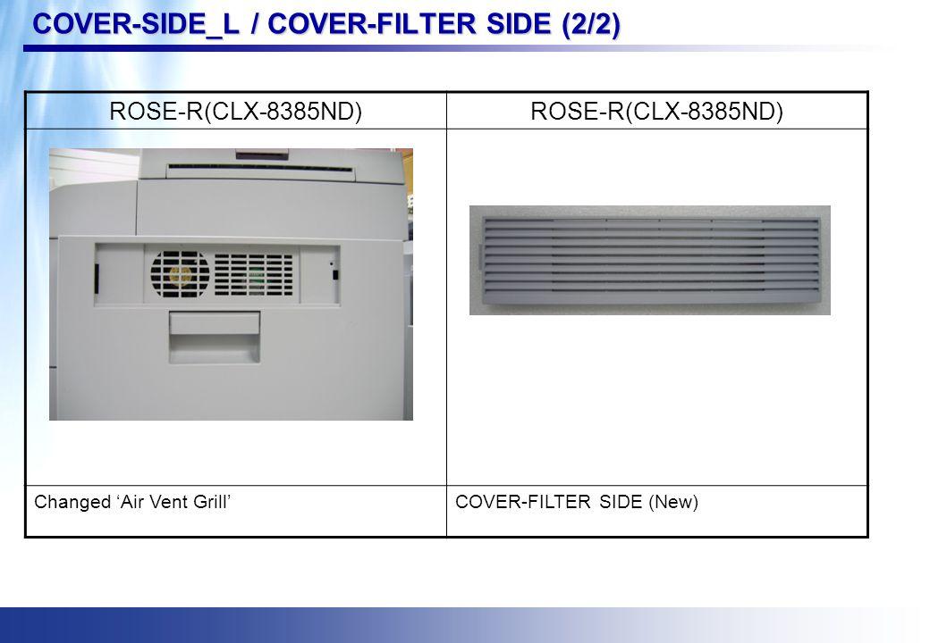 REGI ASSY ROSE (CLX-8380ND) ROSE-R(CLX-8385ND)