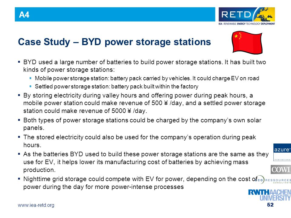 Case Study – BYD power storage stations