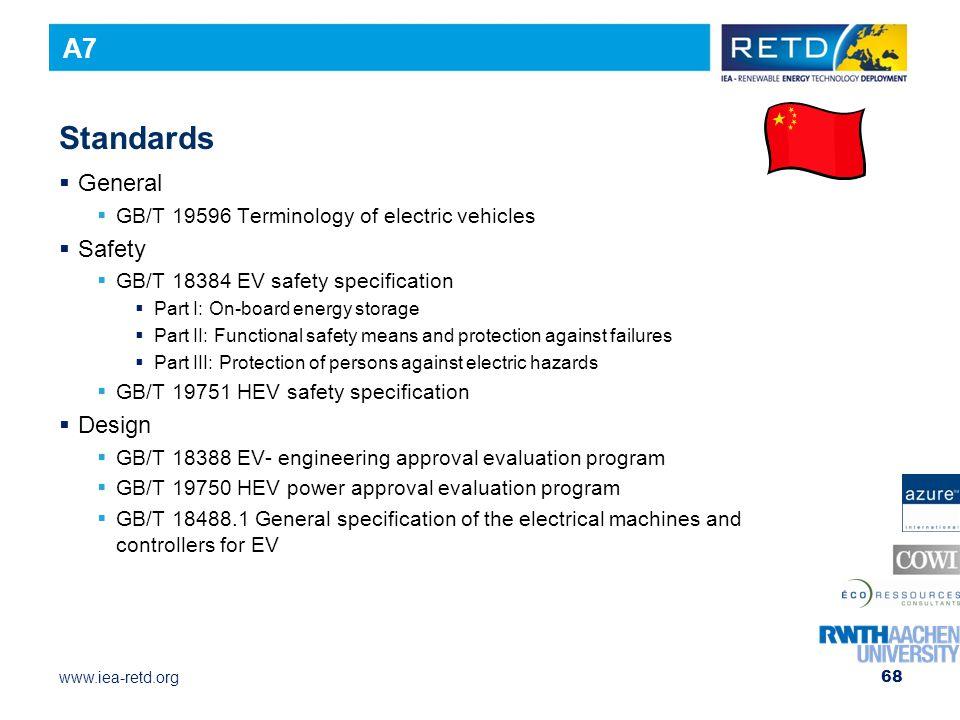 Standards A7 General Safety Design