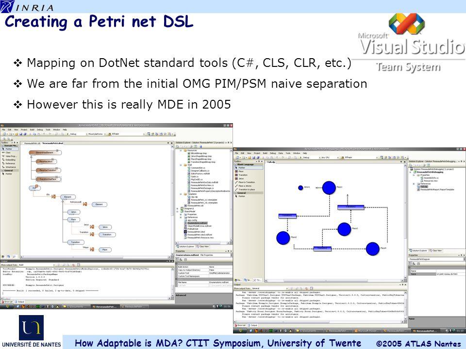 Creating a Petri net DSL