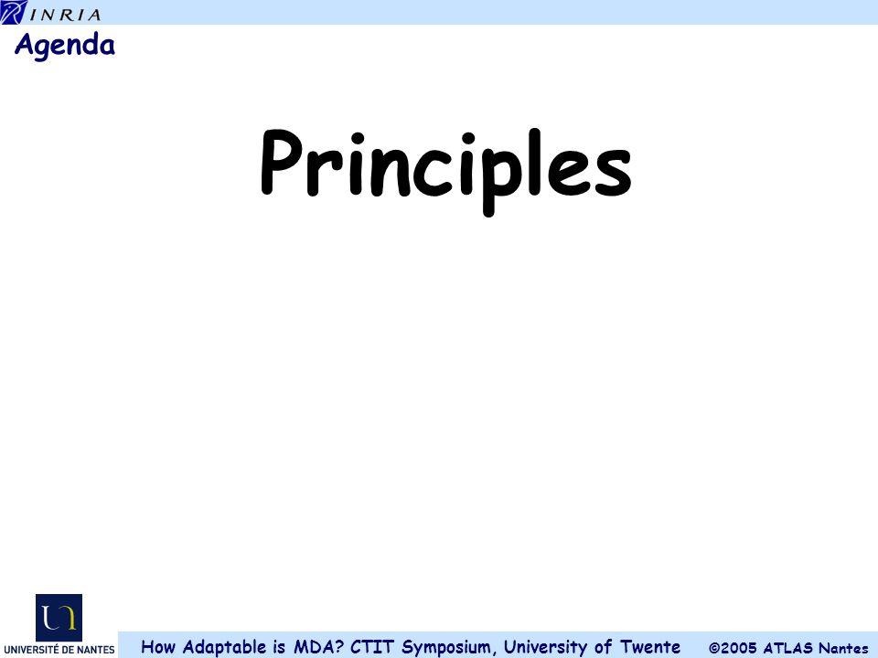 Agenda Principles