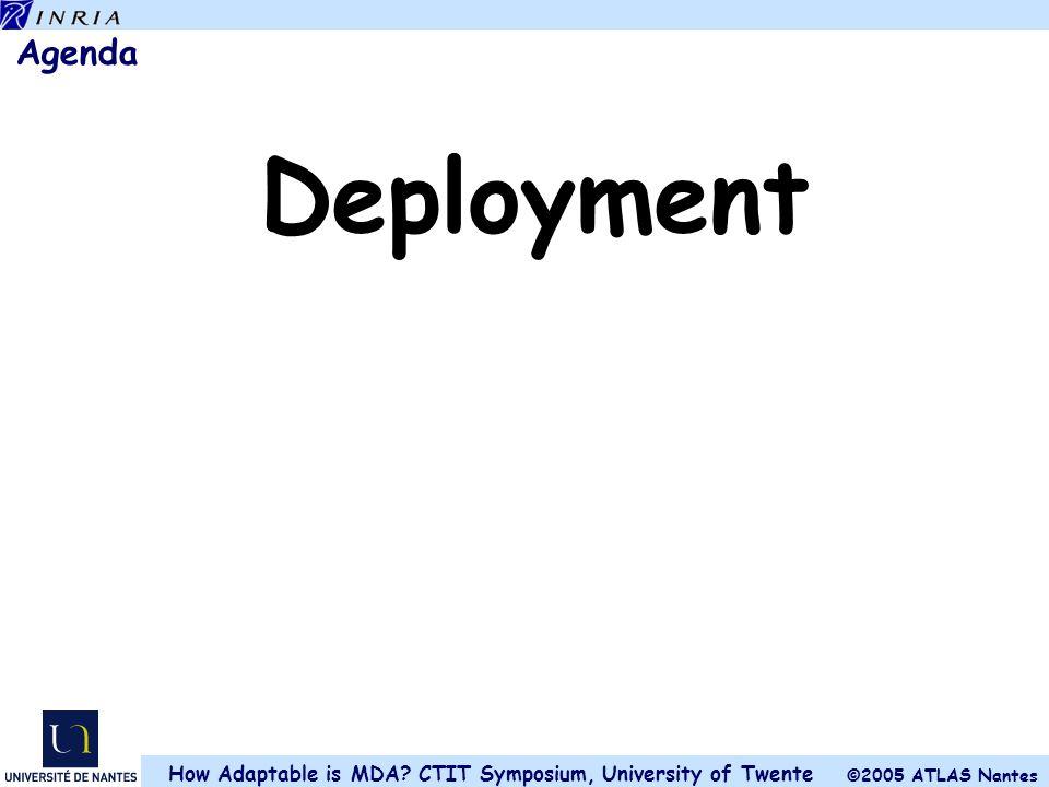 Agenda Deployment