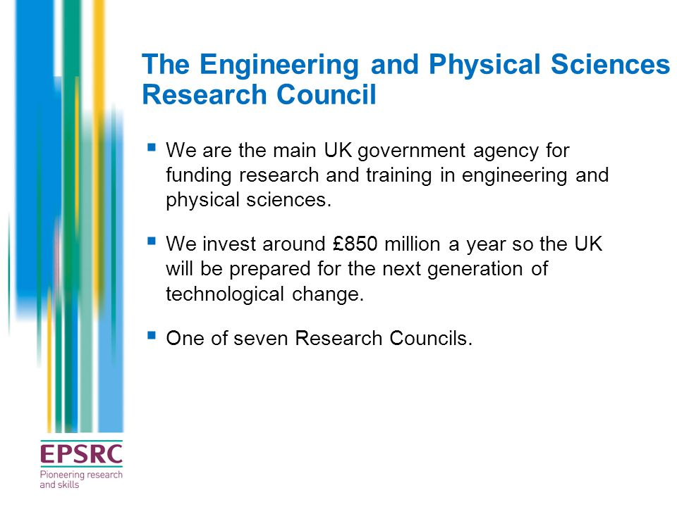 The Engineering and Physical Sciences Research Council