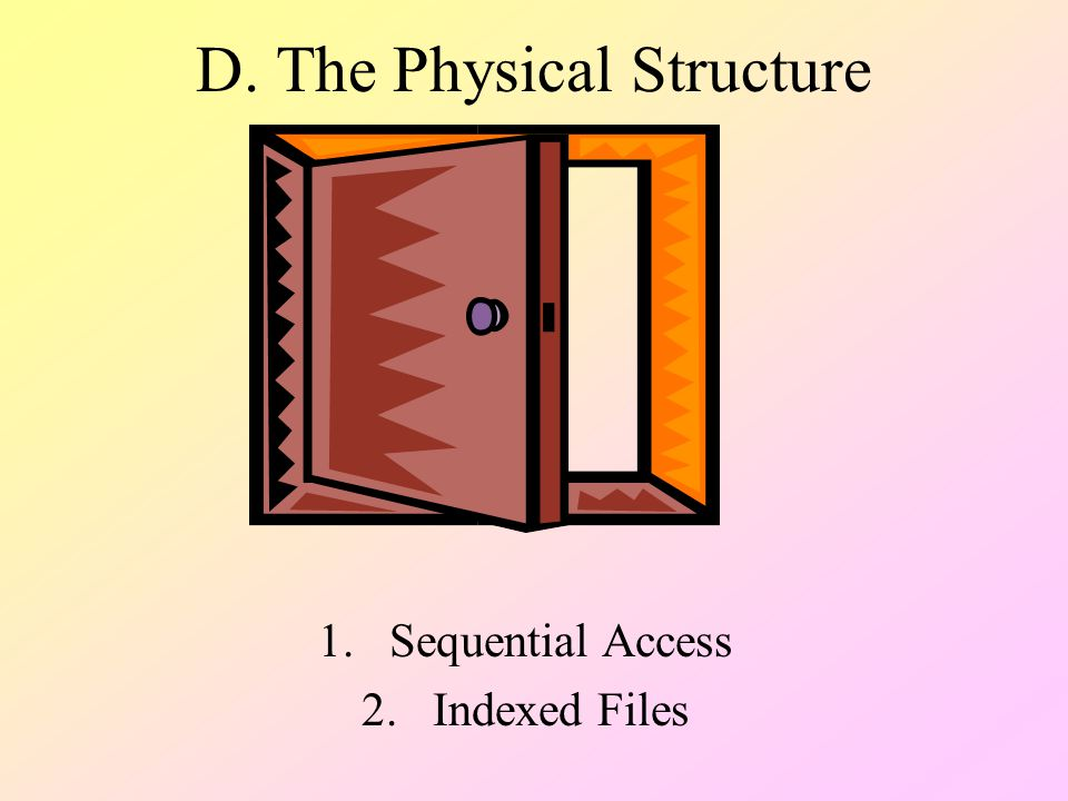 D. The Physical Structure