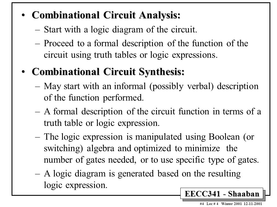 logic and verbal expression Converting truth tables into boolean we can easily design a logic gate or relay logic circuit based on that expression: truth tables into boolean expressions.