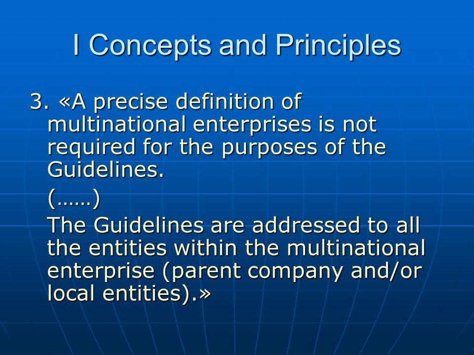 I Concepts and Principles