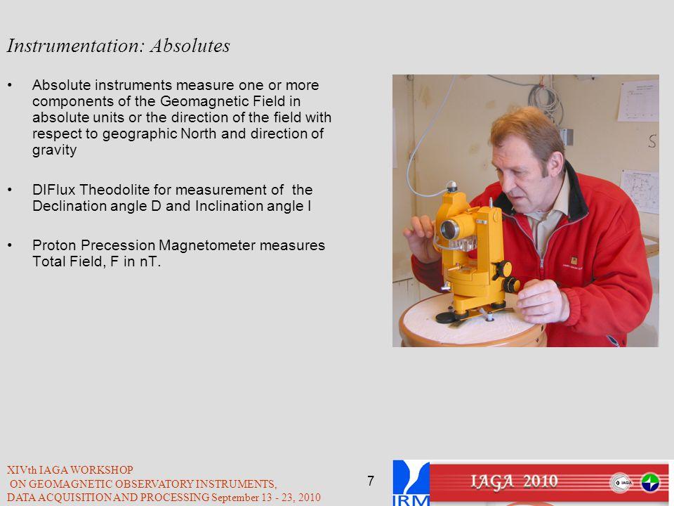 Instrumentation: Absolutes