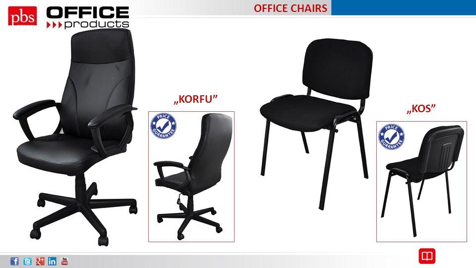 "OFFICE CHAIRS ""KORFU ""KOS"