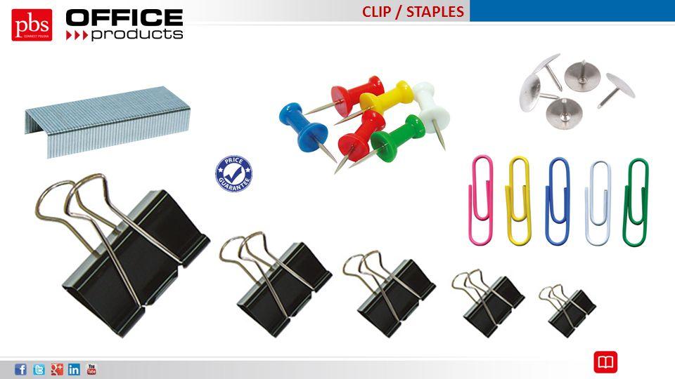 CLIP / STAPLES