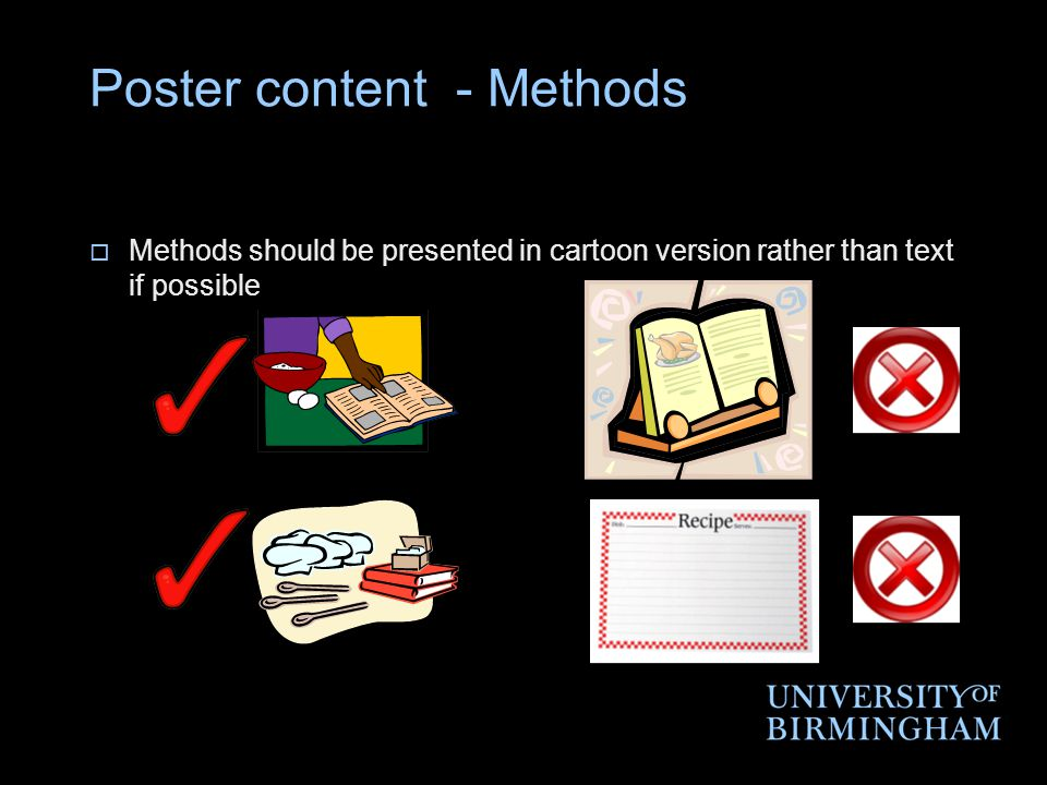 Poster content - Methods
