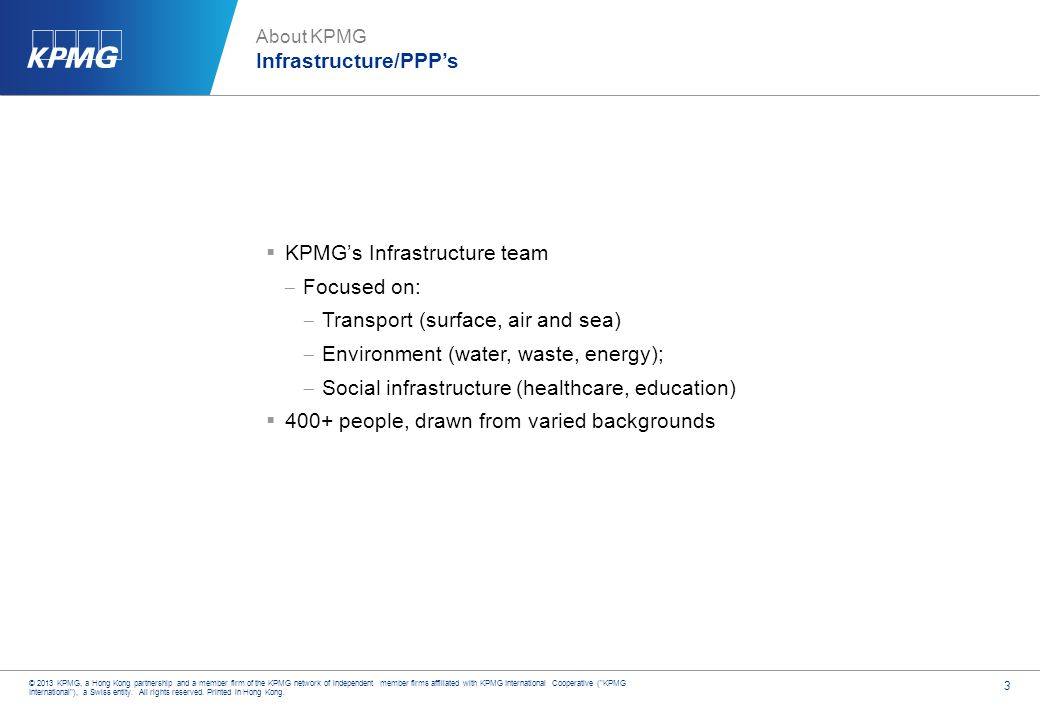 About KPMG KPMG Advisory in ASPAC