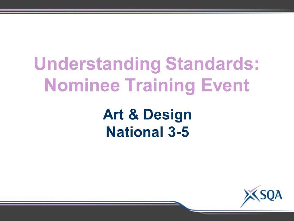 Understanding Standards: Nominee Training Event