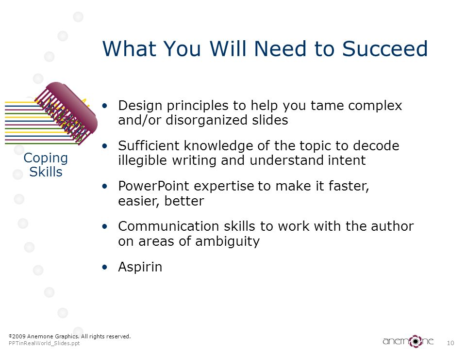 What You Will Need to Succeed