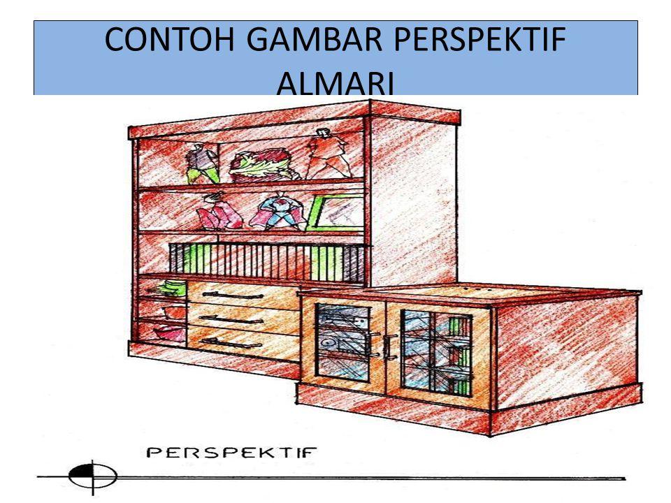 CONTOH GAMBAR PERSPEKTIF ALMARI