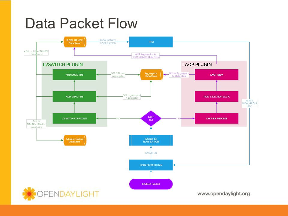 Data Packet Flow