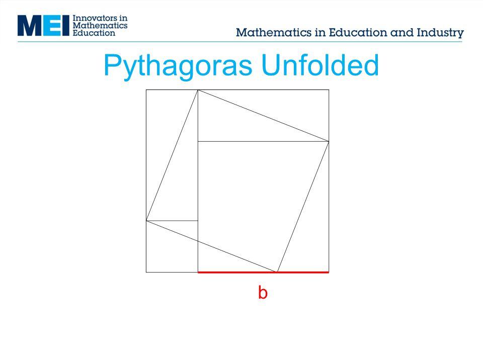 Pythagoras Unfolded b