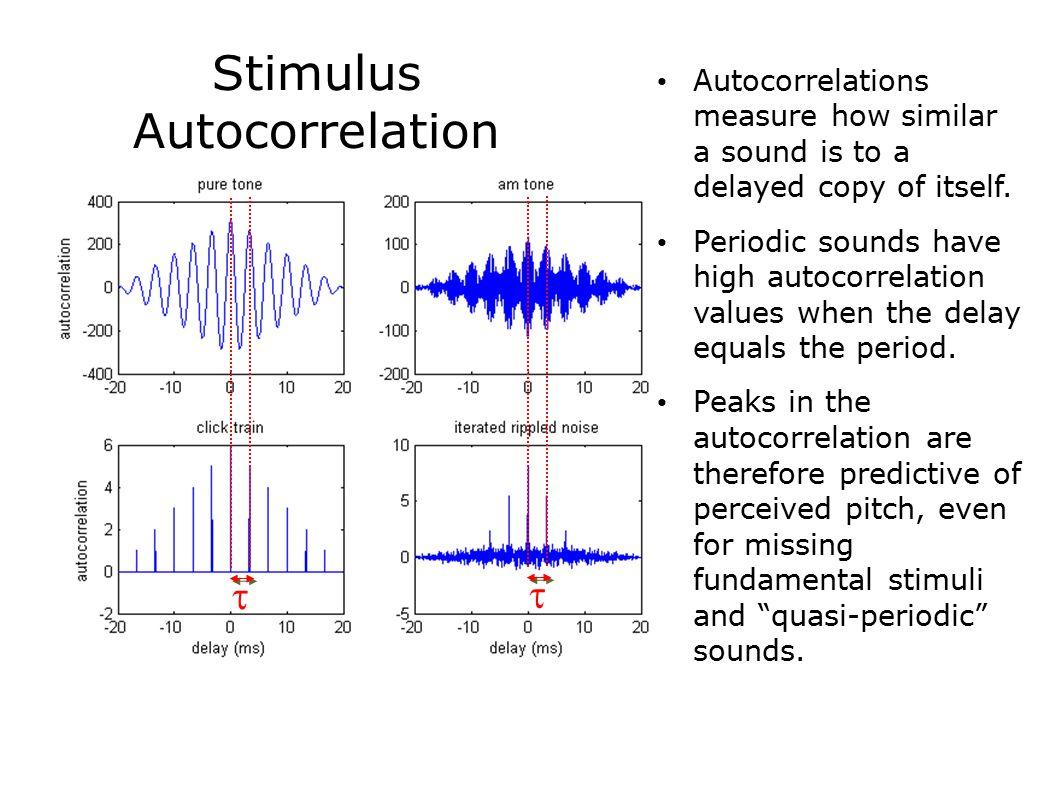 Stimulus Autocorrelation