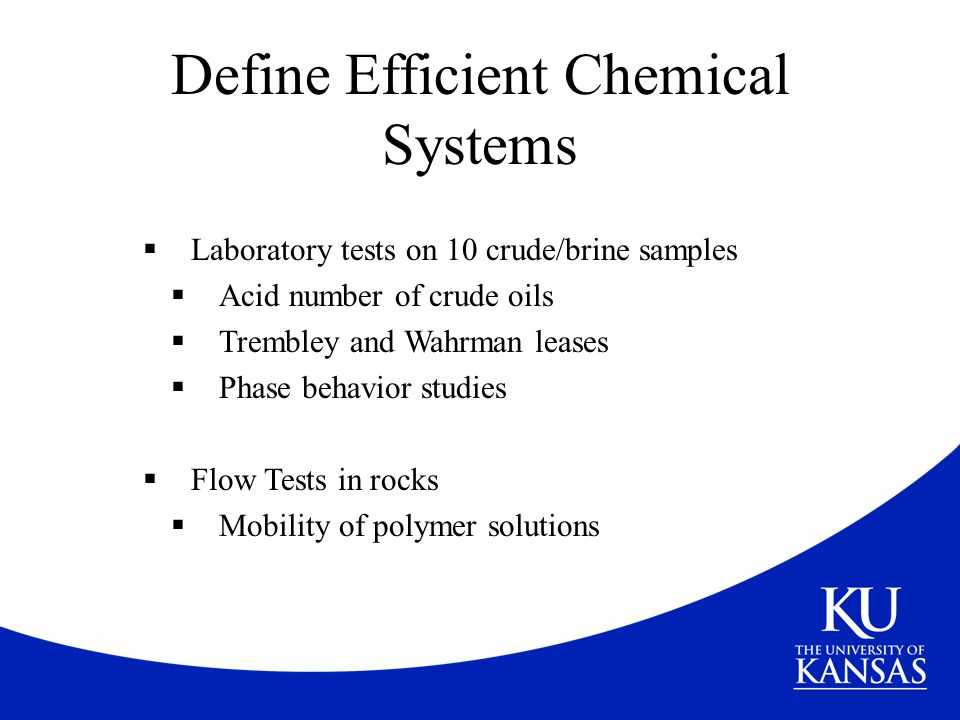 Define Efficient Chemical Systems