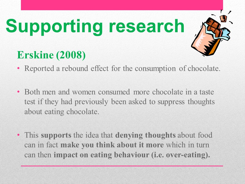 Supporting research Erskine (2008)