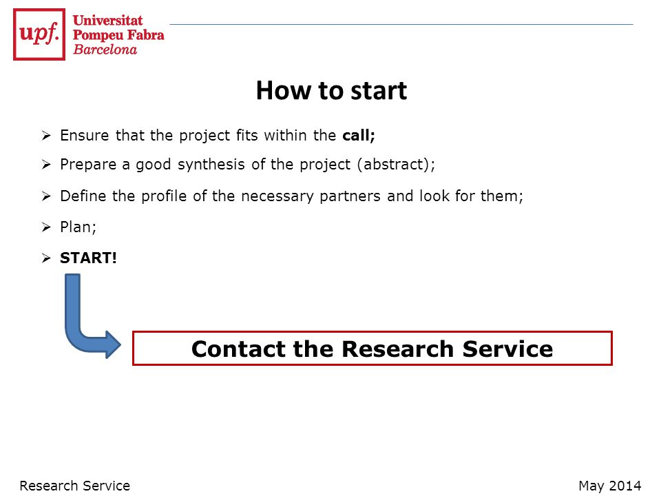 Contact the Research Service