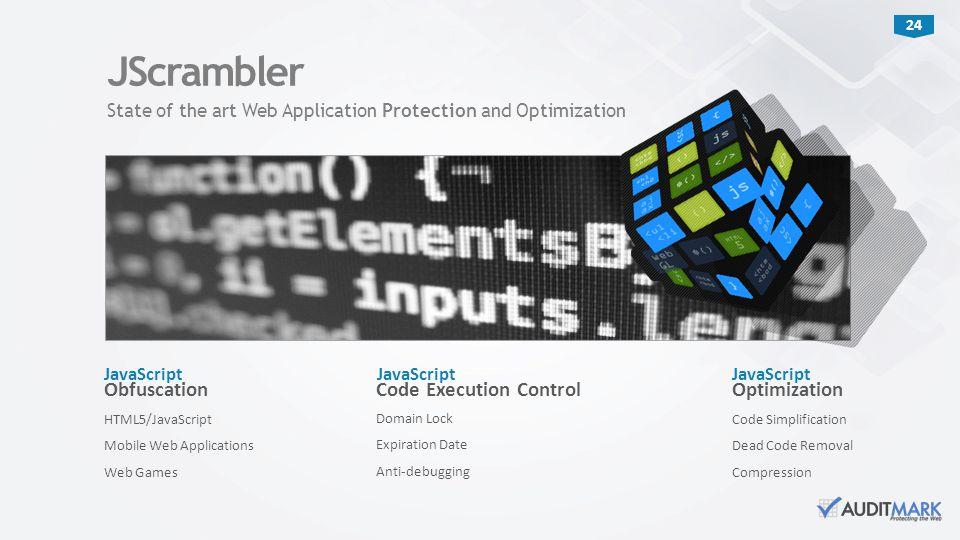 JScrambler Obfuscation Code Execution Control Optimization