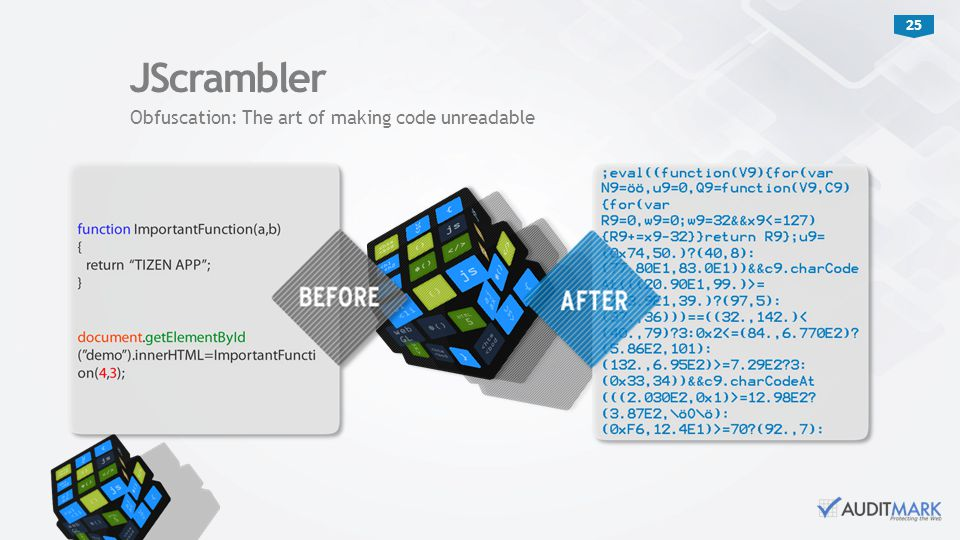 JScrambler Obfuscation: The art of making code unreadable