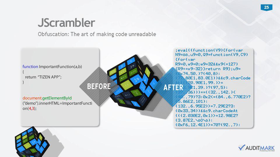 JScrambler Obfuscation: The art of making code unreadable