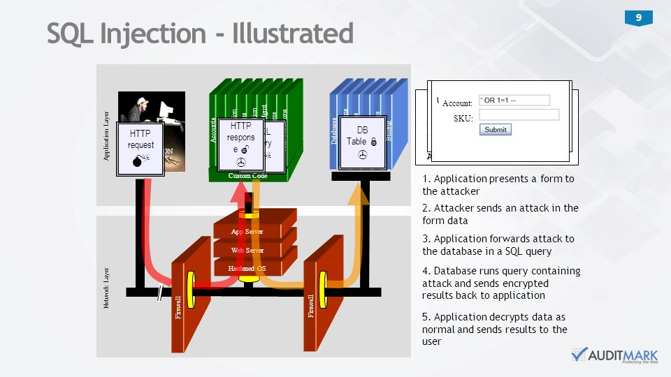 SQL Injection - Illustrated