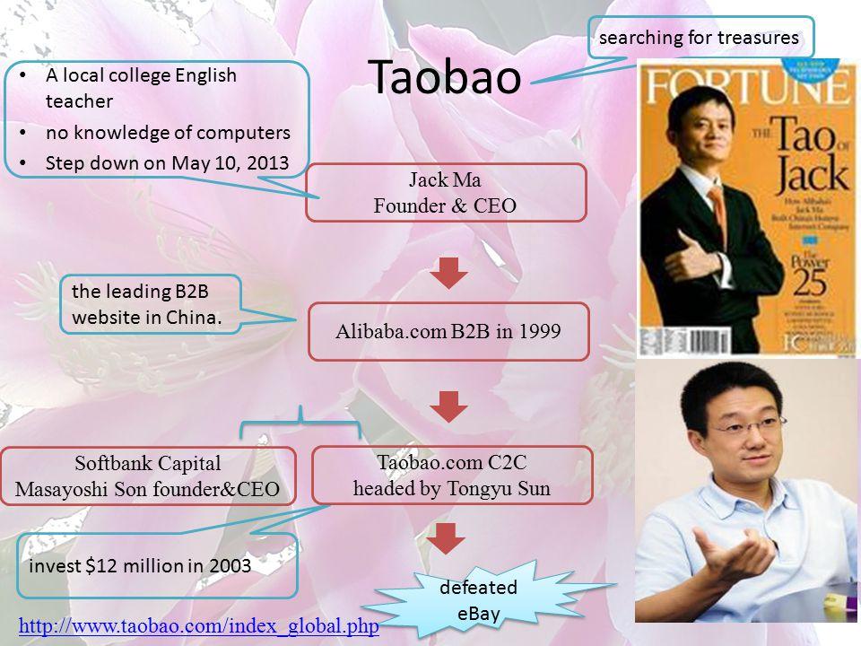 Masayoshi Son founder&CEO