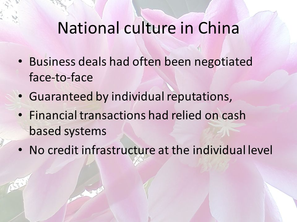 National culture in China