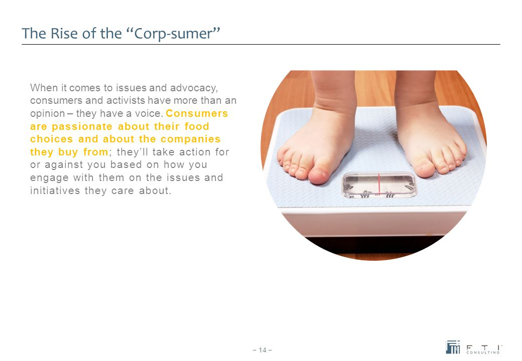 The Rise of the Corp-sumer