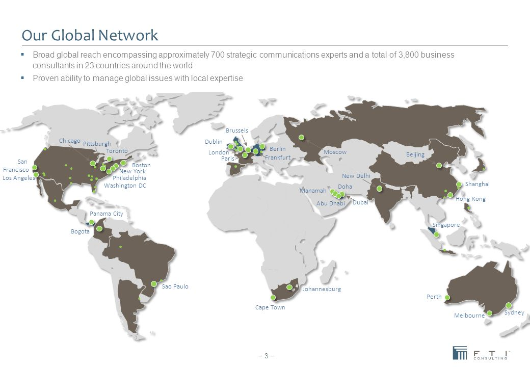 Our Global Network