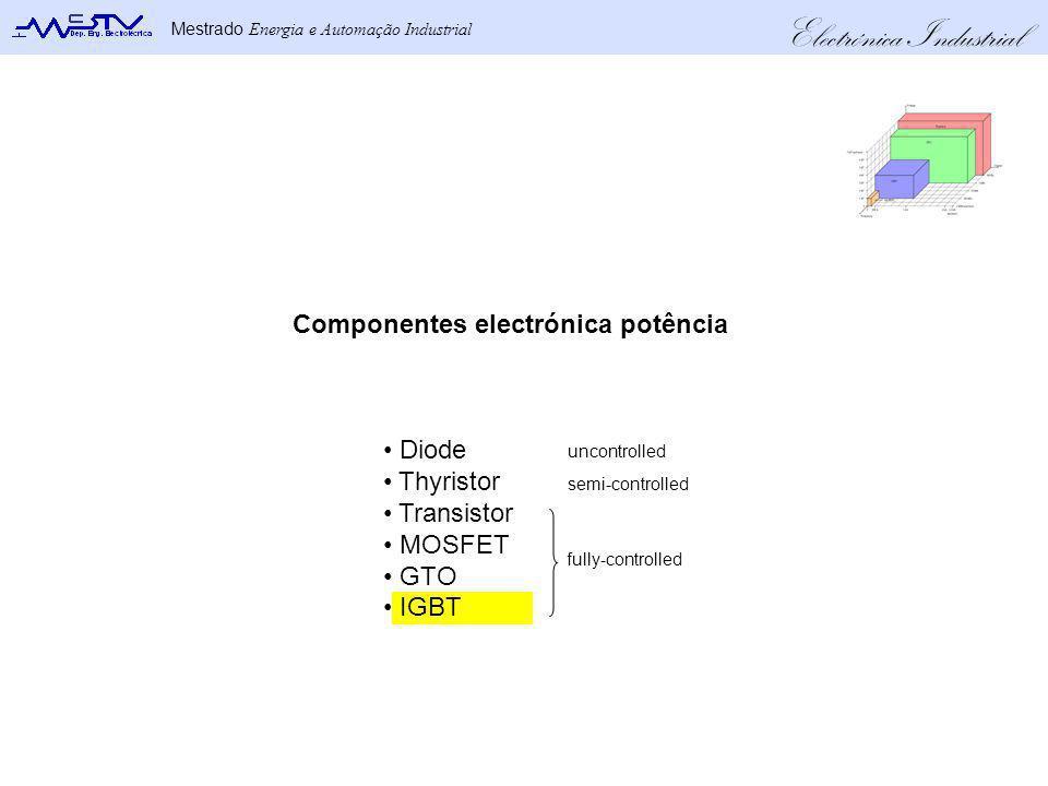 Componentes electrónica potência