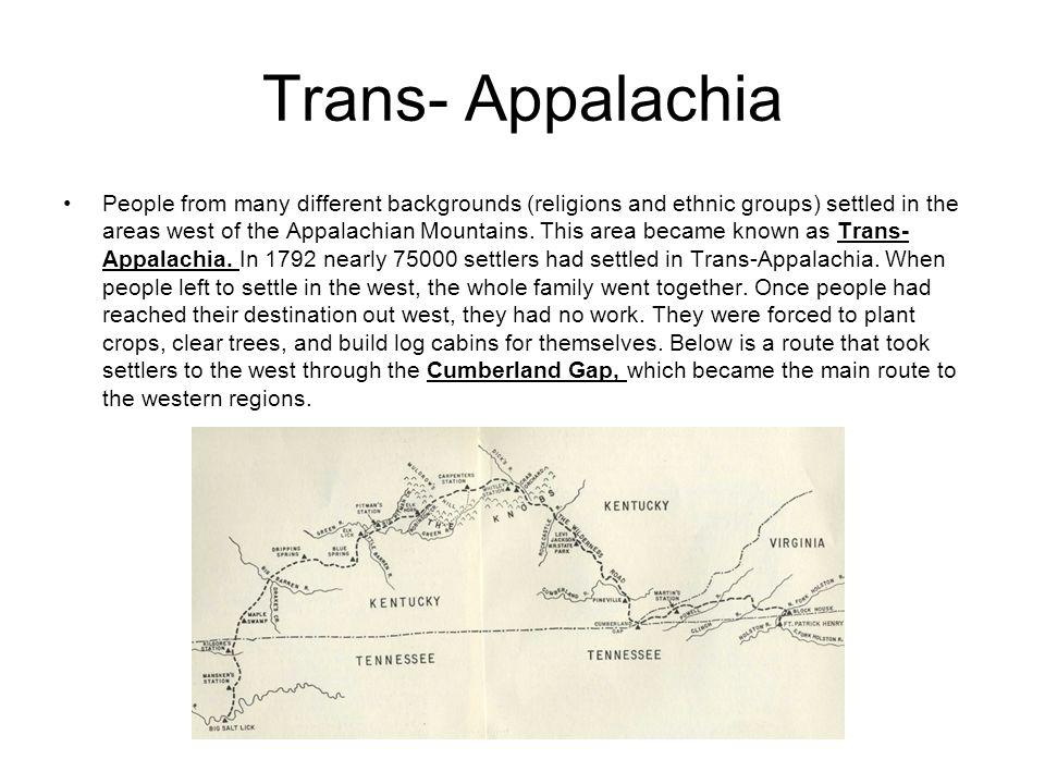 Trans- Appalachia