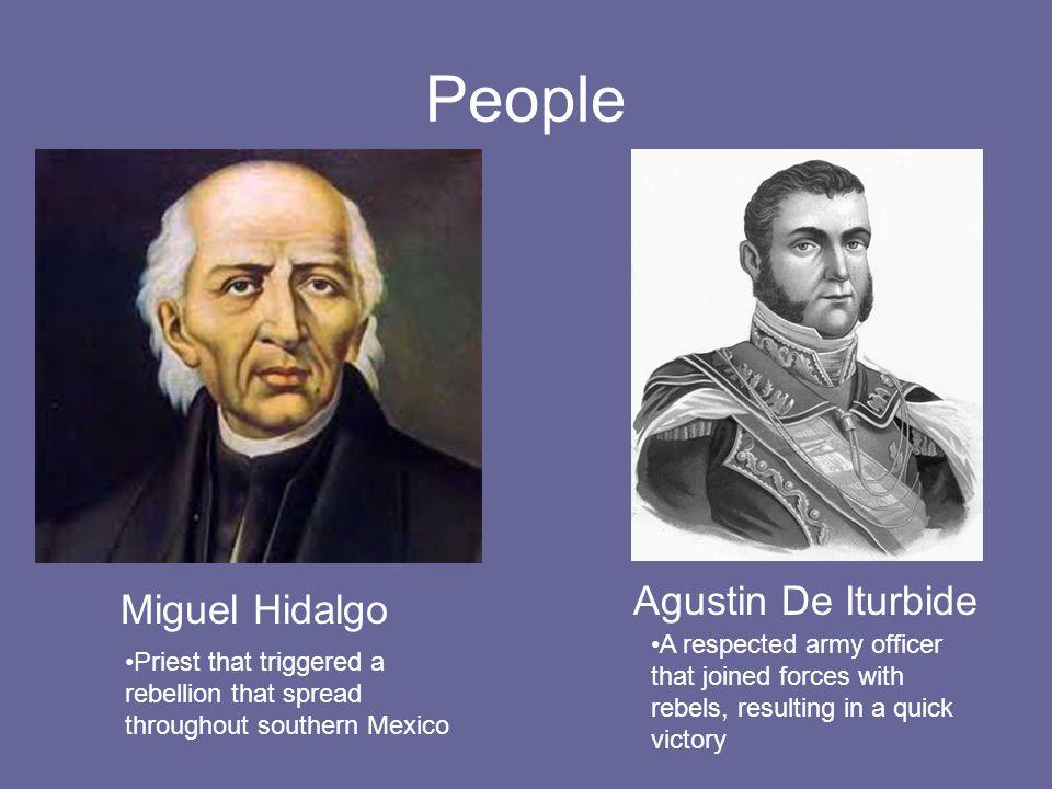People Agustin De Iturbide Miguel Hidalgo