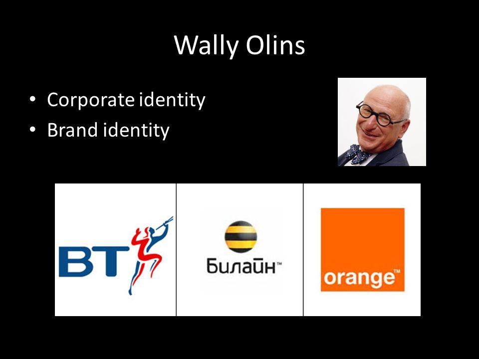 Wally Olins Corporate identity Brand identity