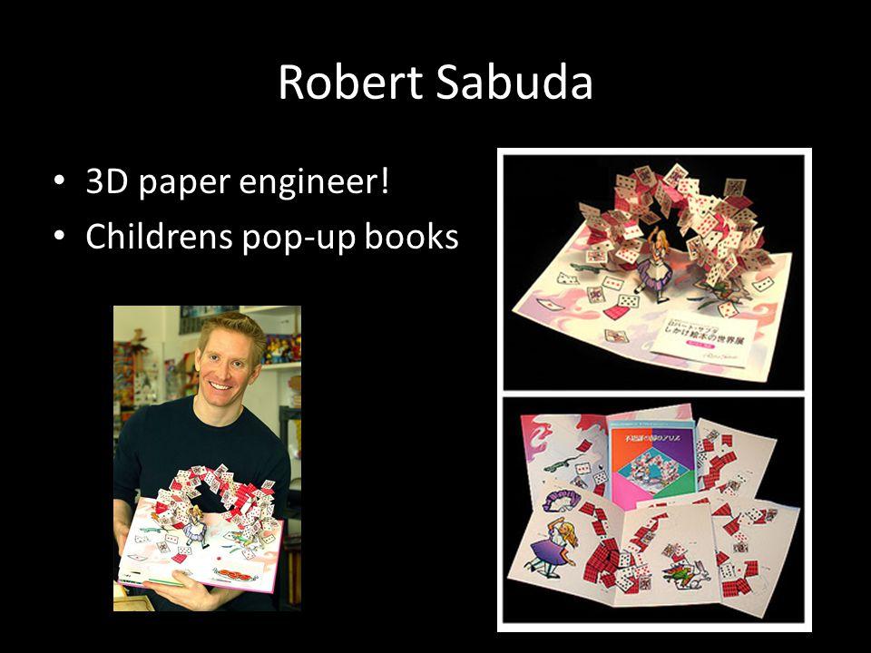 Robert Sabuda 3D paper engineer! Childrens pop-up books