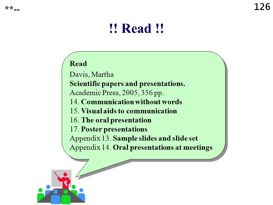 !! Read !! 126 **-- Read Davis, Martha