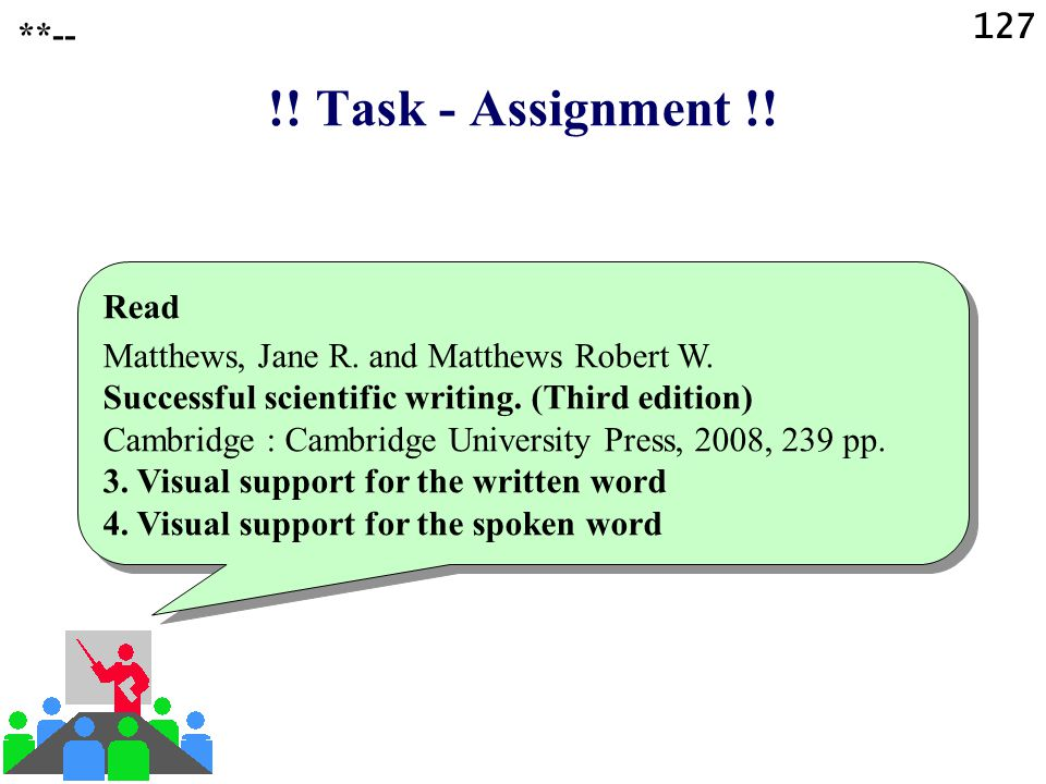 !! Task - Assignment !! 127 **-- Read