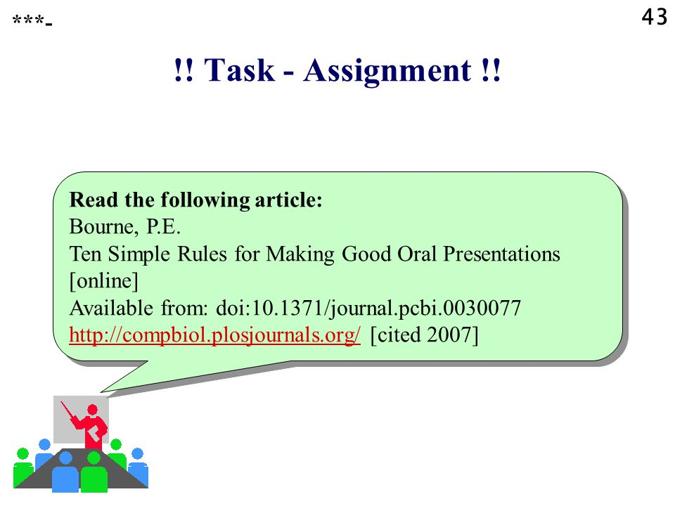 !! Task - Assignment !! 43 ***- Read the following article:
