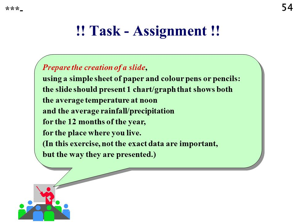 54 ***- !! Task - Assignment !!