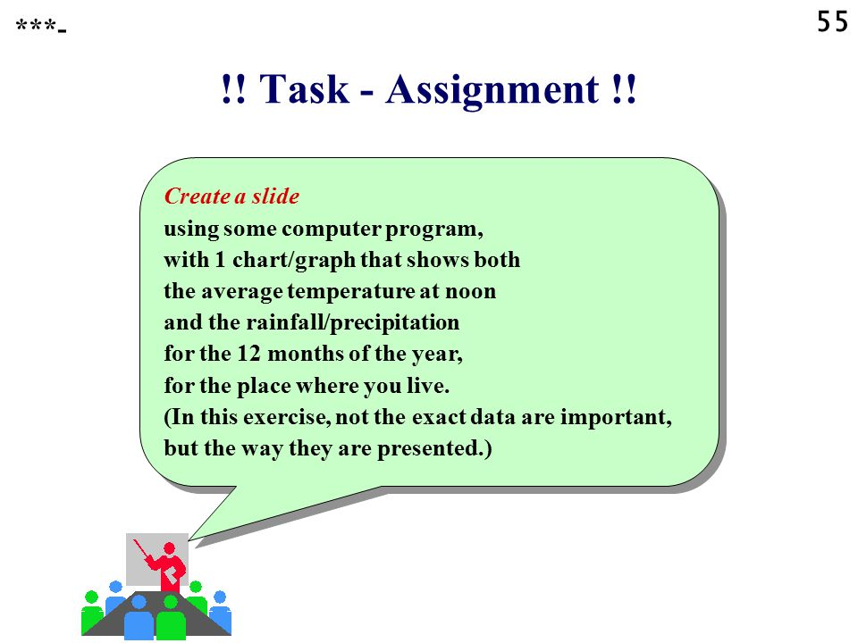 55 ***- !! Task - Assignment !!