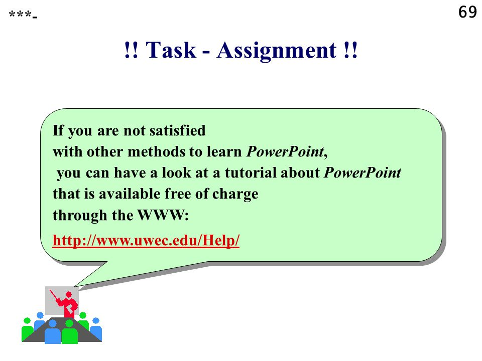 69 ***- !! Task - Assignment !!