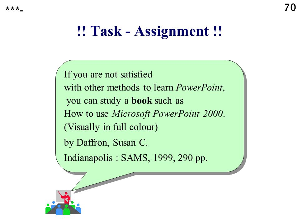 70 ***- !! Task - Assignment !!