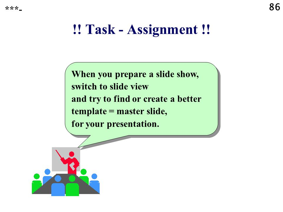 86 ***- !! Task - Assignment !!