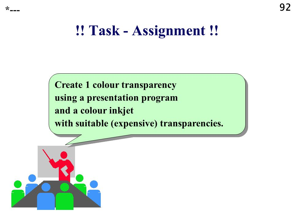 92 *--- !! Task - Assignment !!